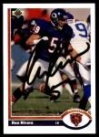 1991 Upper Deck #432  Ron Rivera  Front Thumbnail