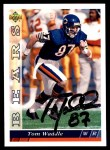 1993 Upper Deck #418  Tom Waddle  Front Thumbnail