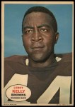 1968 Topps Poster #2  Leroy Kelly  Front Thumbnail
