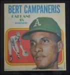 1970 Topps Poster #23  Bert Campaneris  Front Thumbnail