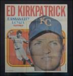 1970 Topps Poster #19  Ed Kirkpatrick  Front Thumbnail