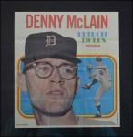 1970 Topps Poster #24  Denny McLain  Front Thumbnail