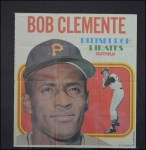 1970 Topps Poster #21  Roberto Clemente  Front Thumbnail