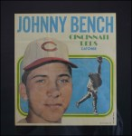 1970 Topps Poster #11  Johnny Bench  Front Thumbnail