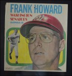 1970 Topps Poster #22  Frank Howard  Back Thumbnail