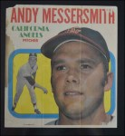 1970 Topps Poster #9  Andy Messersmith  Back Thumbnail