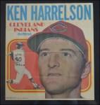 1970 Topps Poster #6  Ken Harrelson   Front Thumbnail