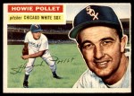 1956 Topps #262  Howie Pollet  Front Thumbnail