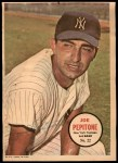 1967 Topps Poster Pin-Up Poster #22  Joe Pepitone  Front Thumbnail