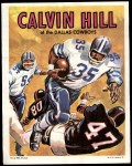 1970 Topps Poster #21  Calvin Hill  Front Thumbnail