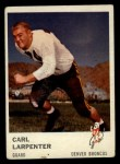 1961 Fleer #150  Carl Larpenter  Front Thumbnail