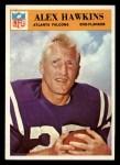 1966 Philadelphia #6  Alex Hawkins  Front Thumbnail