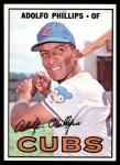 1967 Topps #148  Adolfo Phillips  Front Thumbnail