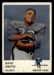 1961 Fleer #170  Dave Smith  Front Thumbnail