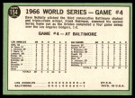 1967 Topps #154   1966 World Series - Game #4 - Orioles Win 4th Straight Back Thumbnail