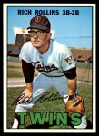 1967 Topps #98 BLK Rich Rollins  Front Thumbnail