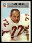 1966 Philadelphia #166  Sam Silas  Front Thumbnail