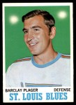 1970 Topps #99  Barclay Plager  Front Thumbnail
