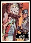 1966 Topps Batman Black Bat #39 BLK  To the Batcave Front Thumbnail