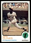1973 Topps #333  Gene Clines  Front Thumbnail