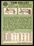 1967 Topps #214  Tom Kelley  Back Thumbnail