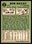 1967 Topps #32  Bob Bailey  Back Thumbnail