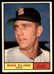 1961 Topps #127  Ron Kline  Front Thumbnail