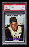 1967 Topps #140  Willie Stargell  Front Thumbnail