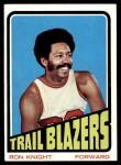 1972 Topps #101  Ron Knight   Front Thumbnail