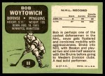 1970 Topps #88  Bob Woytowich  Back Thumbnail