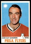 1970 Topps #86  Jean Guy Gendron  Front Thumbnail