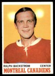 1970 Topps #54  Ralph Backstrom  Front Thumbnail