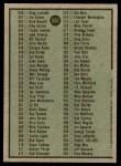 1979 Topps #602   Checklist 5 Back Thumbnail