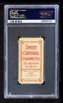 1909 T206 CUB Johnny Evers  Back Thumbnail