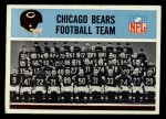 1966 Philadelphia #27   Bears Team Front Thumbnail
