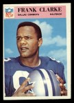 1966 Philadelphia #55  Frank Clarke  Front Thumbnail