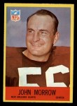 1967 Philadelphia #128  John Morrow  Front Thumbnail