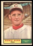 1961 Topps #346  Howie Nunn  Front Thumbnail