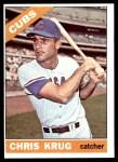 1966 Topps #166  Chris Krug  Front Thumbnail