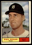 1961 Topps #439  Phil Regan  Front Thumbnail