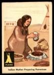 1959 Fleer Indian #8   Indian Mother Preparing Pemmican Front Thumbnail