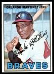 1967 Topps #504  Orlando Martinez  Front Thumbnail