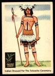 1959 Fleer Indian #65   Indian dressed for ceremony Front Thumbnail
