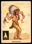 1959 Fleer Indian #12   Dancing Sioux Front Thumbnail