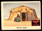 1959 Fleer Indian #63   Navaho Hogan Front Thumbnail