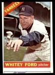 1966 Topps #160  Whitey Ford  Front Thumbnail