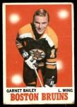1970 Topps #10  Garnet Bailey  Front Thumbnail