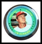 1971 Topps Coins #3  Jim Bunning  Front Thumbnail