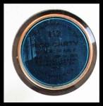 1971 Topps Coins #113  Rico Carty  Back Thumbnail
