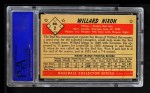 1953 Bowman B&W #2  Willard Nixon  Back Thumbnail